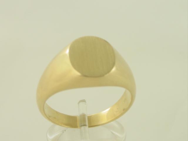 Χρυσό δαχτυλίδι Κ14 χωρίς πέτρες Ανδρικό Κόσμημα ΔΑ 000342 Βάρος 8.33gr ceb37148e23