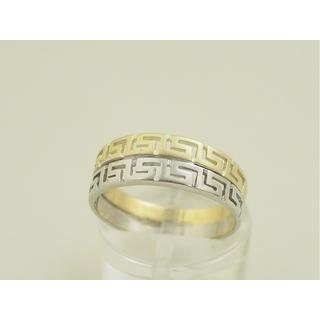 Χρυσό δαχτυλίδι Κ14 χωρίς πέτρες Γκρέκα ΔΑ 000885 Βάρος 3.4gr 485de03d1e8