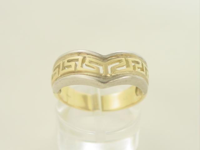ΓΚΡΕΚΑ - Δαχτυλίδια - Χρυσό δαχτυλίδι Κ14 χωρίς πέτρες Γκρέκα ΔΑ ... af7ad6eec6e